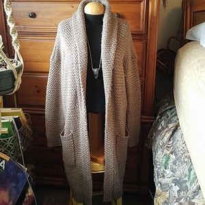 Ralph Lauren wool blend boho cardigan duster large